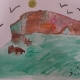 6th grade bison-art